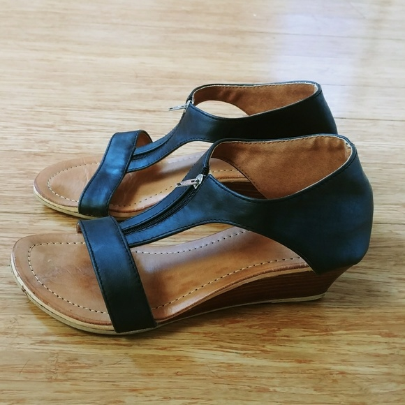 fc6641c9dc1c Genuine Leather Handmade Wedge Sandals from Bali. M 5b15b19d619745971c65c1ce
